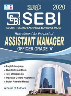 SEBI Assistant Manager Officer Grade A Exam Books 2020