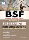 Border Security Force(BSF) Sub-Inspector SI (GD) LDCE Exam Books 2018
