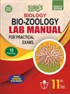 11th Standard Biology Bio-Zoology Lab Manual for Practical Exams Guides in English Medium