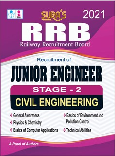 RRB (Railway Recruitment Board) Junior Engineer - Stage - 2 Civil Engineering Exam Books