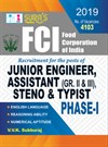 FCI(Food Corporation of India) Junior Engineer, Assistant (Gr II & III), Steno & Typist Phase - I Exam Books 2019