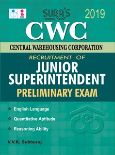 CWC (Central Warehousing Corporation) Junior Superintendent (Preliminary) Exam Books 2019