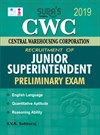 CWC (Central Warehousing Corporation) Junior Superintendent (Preliminary) Exam Books 2019