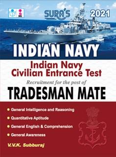 Indian Navy Civilian Entrance Test Tradesman Mate Exam Books