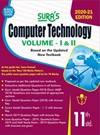 SURA`S 11th Standard Computer Technology Volume - I and II (Combined) Exam Guide in English Medium 2020
