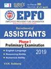 EPFO Assistants Phase I Preliminary Exam Books 2019