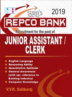 Repco Bank Junior Assistant / Clerk Exam Books 2019