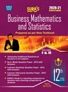 SURA`S 12th Std Business Mathematics and Statistics Volume 1 and 2 Exam Guide in English Medium 2020-21 Edition