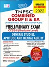 TNPSC Group 2 and 2A CCSE-II (Degree Level) Preliminary All-In-One Exam Books in English Medium 2022 Updated Edition