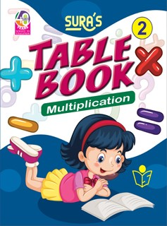 SURA`S Table Book Multiplication - 2