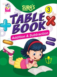 SURA`S Table Book Addition and Subtraction - 3