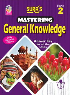 SURA`S Mastering General Knowledge (GK) Book - 2 - Fully Updated Edition
