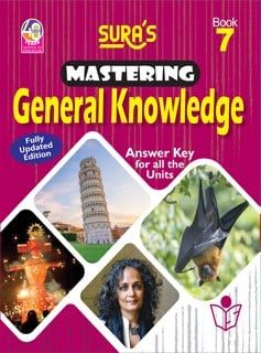 SURA`S Mastering General Knowledge (GK) Book - 7 - Fully Updated Edition