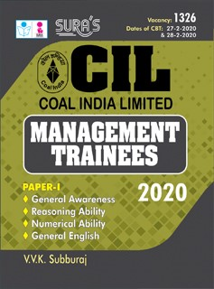 CIL (Coal India Limited) Management Trainees Exam Books 2020 in English