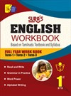 Sura`s 1st Std English Full Year Workbook Exam Guide (Latest Edition)