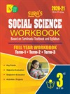 Sura`s 3rd Std Social Science Full Year Workbook Exam Guide (Latest Edition)