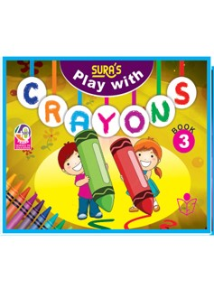 SURA`S Play with Crayons Book - 3