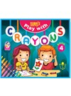 SURA`S Play with Crayons Book - 4