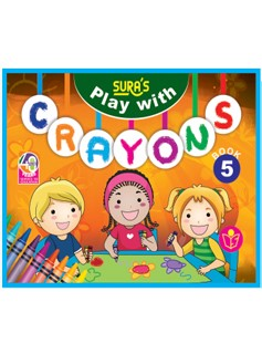 SURA`S Play with Crayons Book - 5