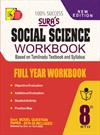 Sura`s 8th Std Social Science Full Year Workbook Exam Guide in English Medium(Latest