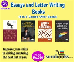 Essays and Letter Writing Books