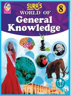 SURA`S World of General Knowledge (GK) Books  8