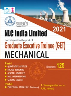 NLC Graduate Executive Trainee(GET) Mechanical Exam Books in English 2020