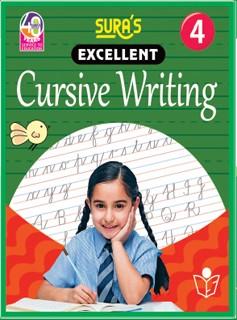 SURA`S Excellent Cursive Writing Book 4