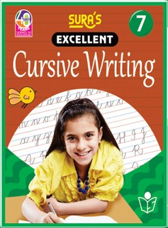 SURA`S Excellent Cursive Writing Book 7