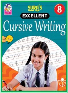 SURA`S Excellent Cursive Writing Book 8