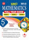 SURA`S 5TH STD MATHEMATICS FULL YEAR GUIDE (TERM1+TERM2+TERM3) ENGLISH MEDIUM 2021-22 Edition - based on Samacheer Kalvi Textbook 2021