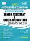 National Board of Examinations(NBE) Senior Assistant & Junior Accountant Exam Books (Graduation Level) 2021