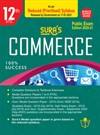 SURA`S 12th Std Commerce Reduced Prioritised Syllabus Exam Guide in English Medium