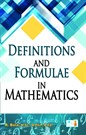 Definitions and Formulae in Mathematics