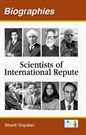 Biographies Scientists of International Repute