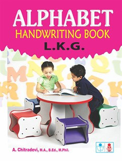 Alphabet handwritting book (L.K.G)