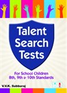 Talent Search Test - 8th, 9th & 10th standards