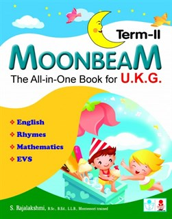 Moonbeam U.K.G. Term-II The All-in-One Book